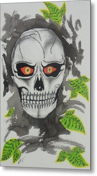 Muerte Metal Print