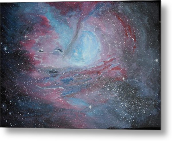 Nebula 2 Metal Print by Siobhan Lawson