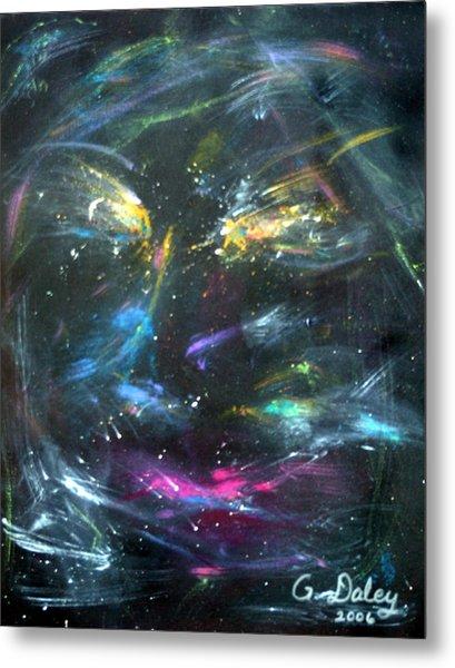 Nebula's Face Metal Print