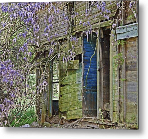 Old Abandoned House Metal Print