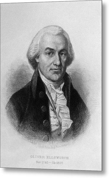 Oliver Ellsworth 1745-1807, U.s Metal Print by Everett