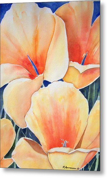 Poppy Song Metal Print by Regina Ammerman