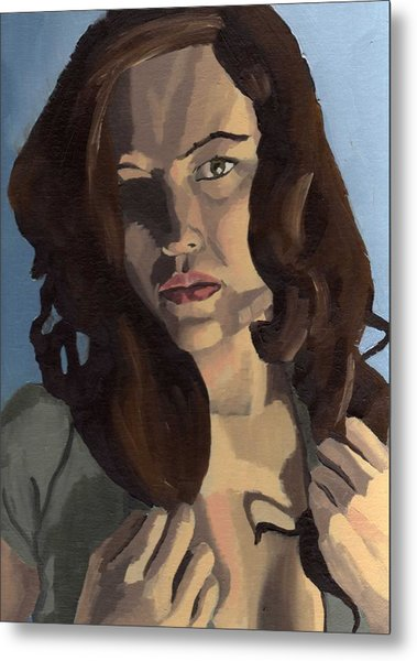 Portrait Of Emily Ann Metal Print