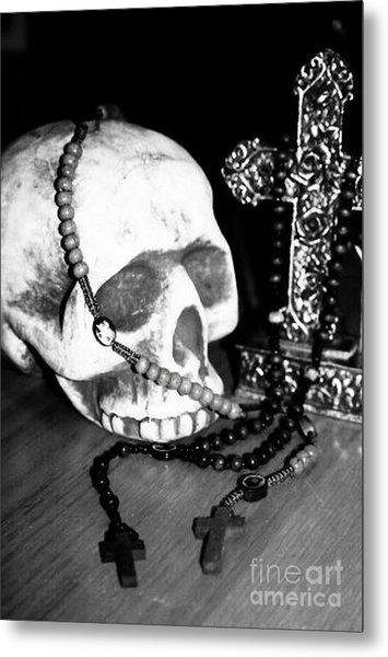 Skull 5 Metal Print