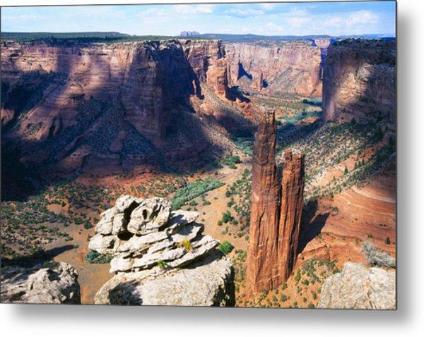 Southwest Canyon  Metal Print by George Oze