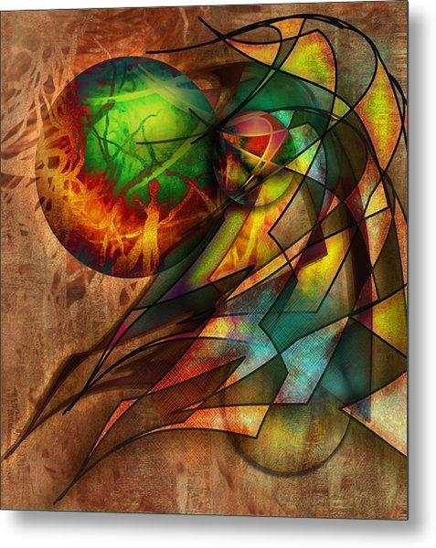 Sphere Of Influence Metal Print by Monroe Snook