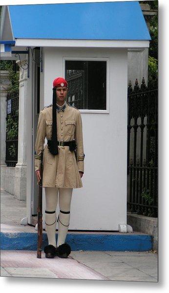 Standing Guard Metal Print