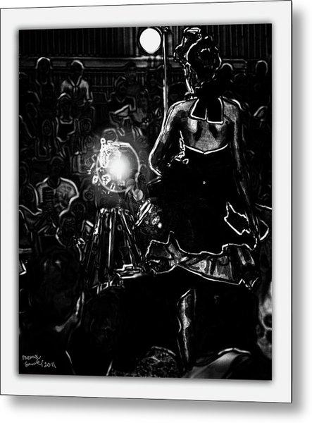 Strike Runway Pose Metal Print by Monroe Snook