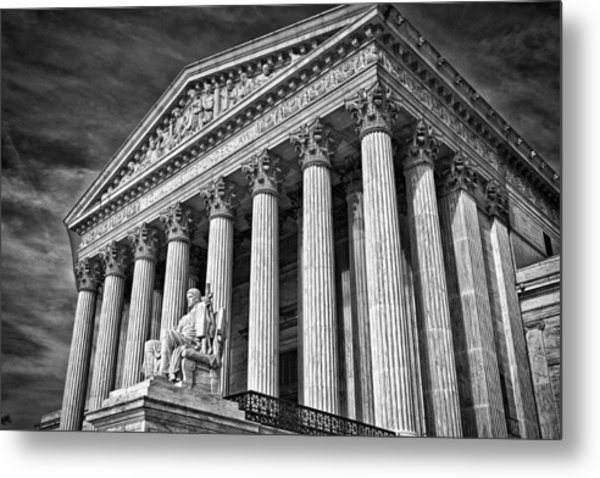 Supreme Court Building 5 Metal Print by Val Black Russian Tourchin