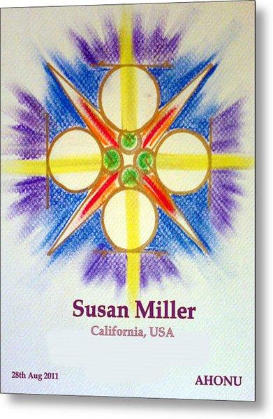 Susan Miller Metal Print