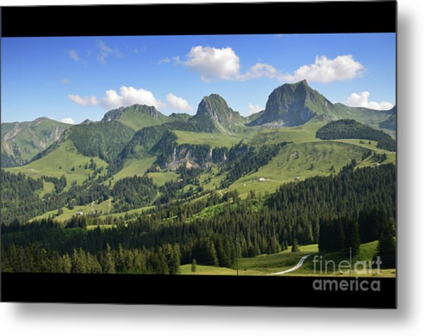 Swiss View 1 Metal Print