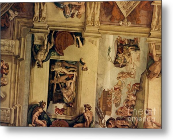 The Deluge And The Sacrifice Of Noah. Metal Print
