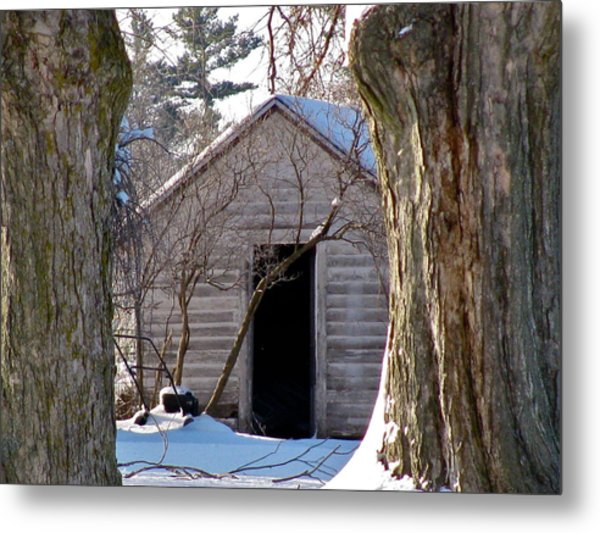 The Hideout Metal Print
