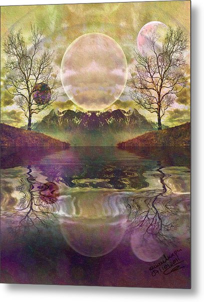 The Mystery Of Dawn Metal Print