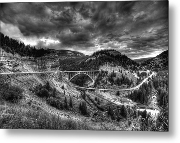 The Silver At Sunset Metal Print by Darryl Gallegos