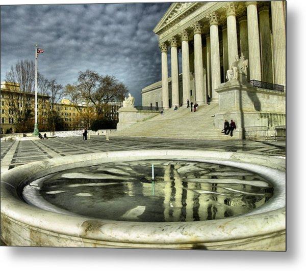 The Supreme Court And Plaza Metal Print