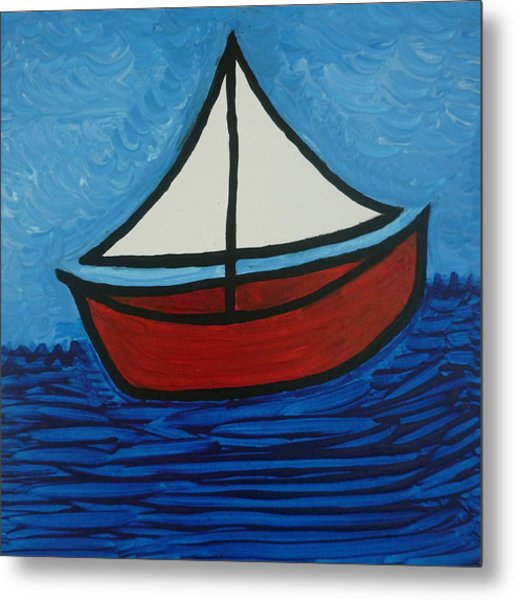The Toy Boat Metal Print by Gregory Young