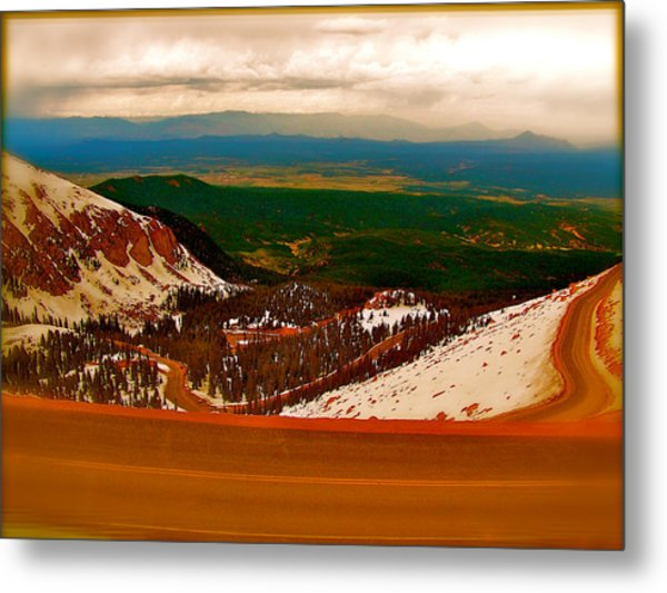 The Valley Metal Print by Amber Hennessey