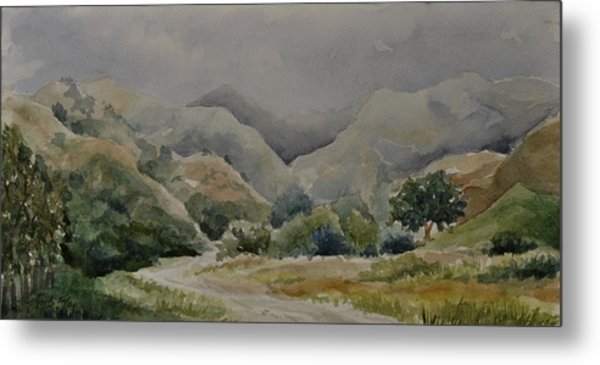 Towsley Canyon Morning Metal Print