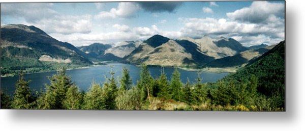 View Of Loch Alsh Metal Print
