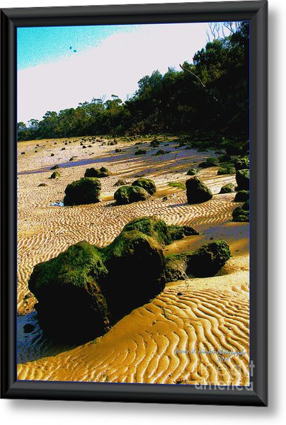 Waste Land Metal Print