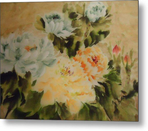 Flower 0727-3 Metal Print