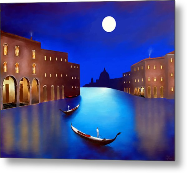 Venice Nights Metal Print