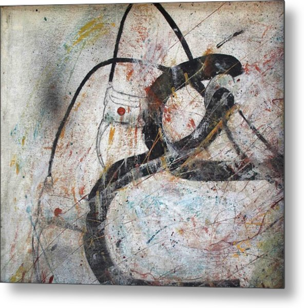 Abstract Bike Metal Print by Thomas Armstrong