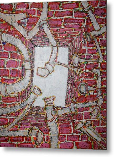 Bosque Powerhouse Metal Print by Ray  Petersen
