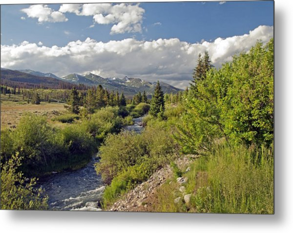 Breckenridge Colorado Metal Print