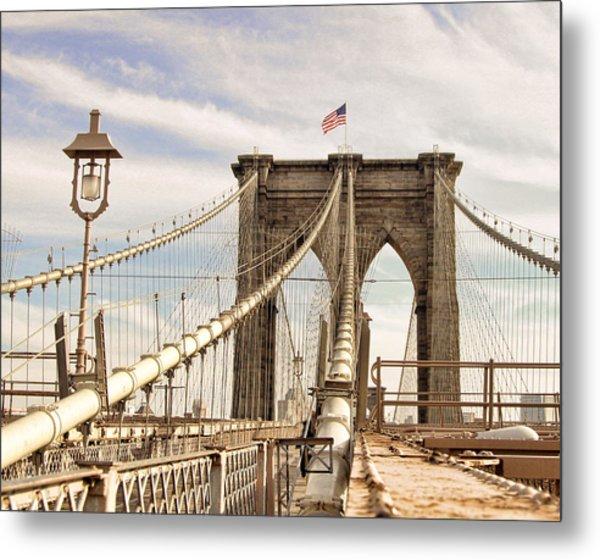 Brooklyn Bridge I Metal Print