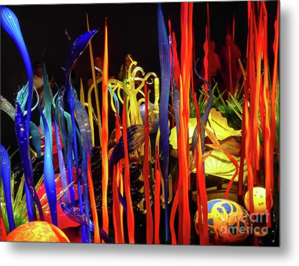 Chihuly Garden And Glass Exhibition Metal Print