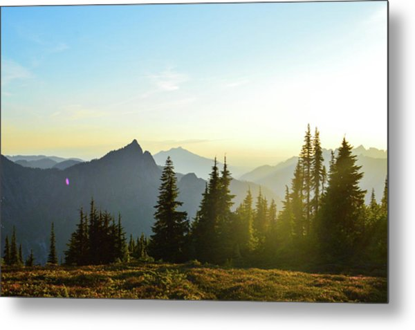 Dickerman Sunset Metal Print