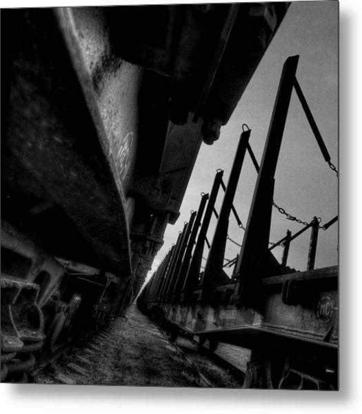 Empty Metal Print by Deividas Kavoliunas