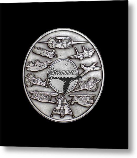 Grumman Coin Metal Print