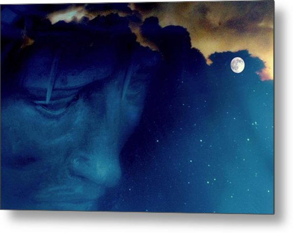 Jesus In The Night.. Metal Print by Al  Swasey