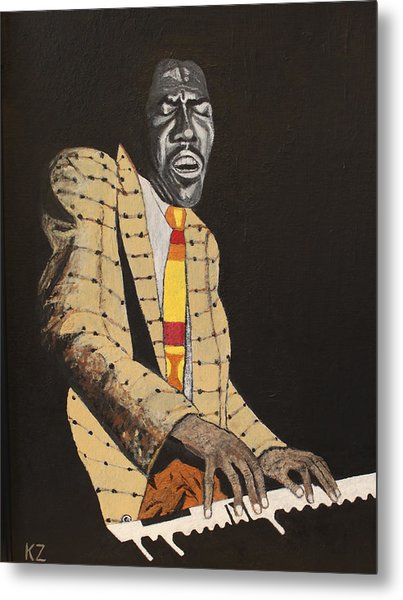 Jimmy Smith.king Of The Jazz Hammond B-3. Metal Print