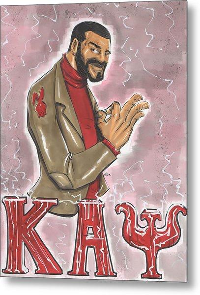 Kappa Alpha Psi Fraternity Inc Metal Print