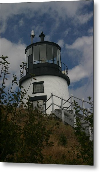 Lighthouse Metal Print by Dennis Curry