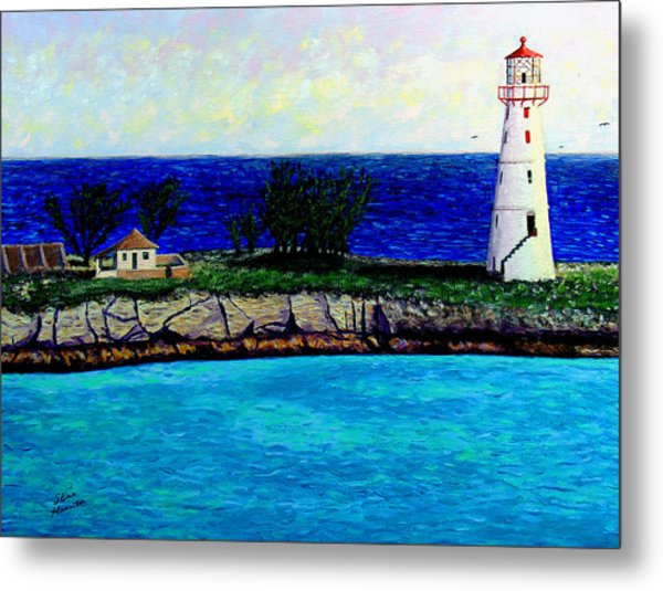 Lighthouse IIi Metal Print by Stan Hamilton