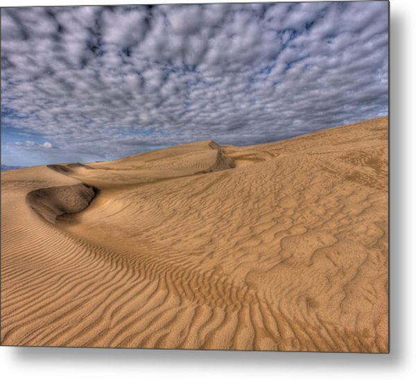 Magic Of The Dunes Metal Print