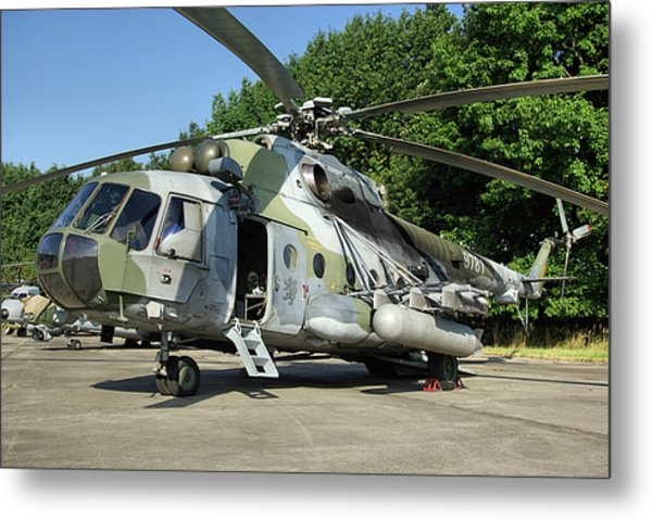Mil Mi-17 Hip Metal Print