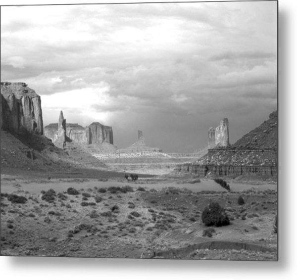 Monument Valley Afternoon Metal Print by Troy Montemayor