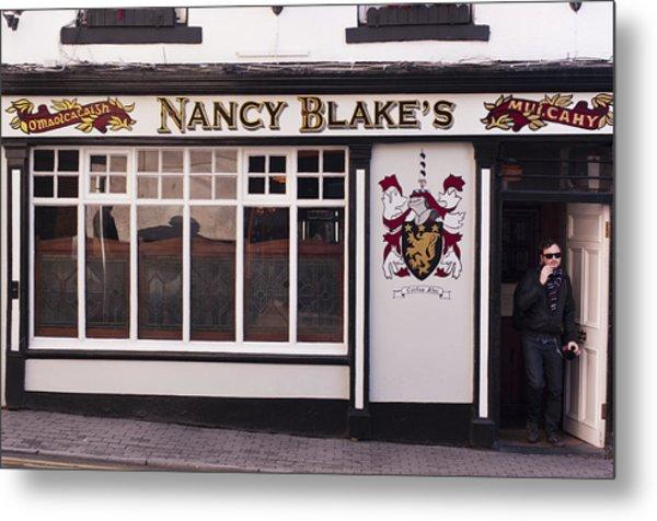 Nancy Blake's Irish Pub Metal Print