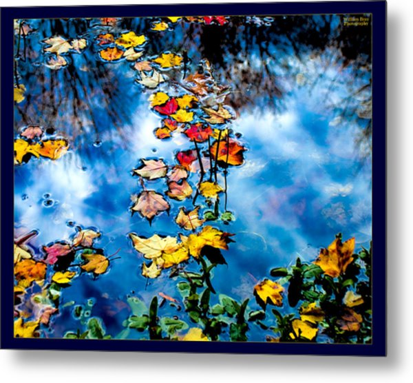 New England Water Color Metal Print by William Bray