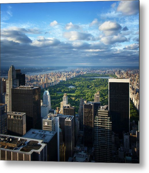 Nyc Central Park Metal Print