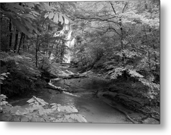 Oconee Station Waterfall  Metal Print
