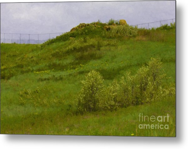 Panorama Hills Bluffs Metal Print