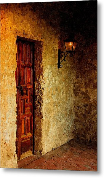 Quaint Corner In Oil Metal Print
