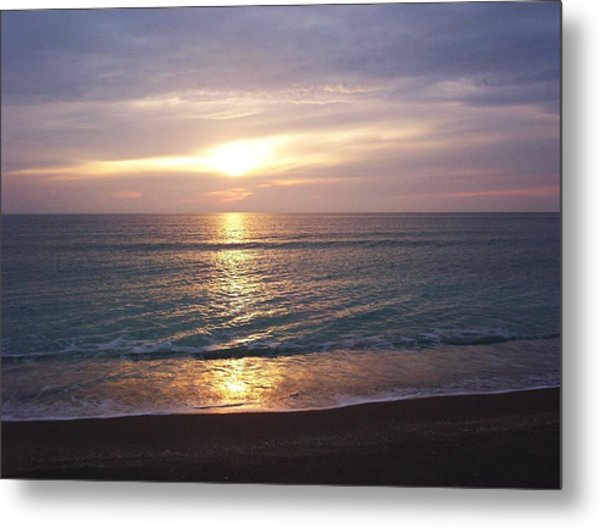 Reflections On The Water Metal Print